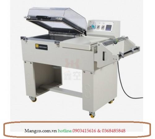 Máy co màng cắt màng tự động 2 trong 1 FM5540